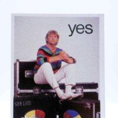 Música de coleção: CROMO SUPER MUSICAL 26. YES CHRIS SQUIRE. EYDER, CIRCA 1980. Lote 168930106