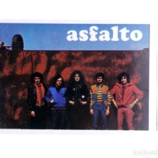 Musique de collection: CROMO SUPER MUSICAL 29. ASFALTO. EYDER, CIRCA 1980. Lote 200884037