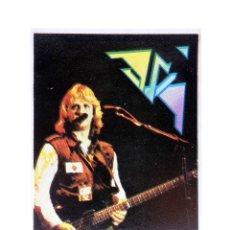Música de coleção: CROMO SUPER MUSICAL 37. ASIA. EYDER, CIRCA 1980. Lote 168930186