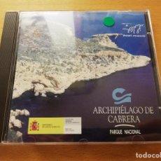 Música de colección: PARQUE NACIONAL ARCHIPIÉLAGO DE CABRERA (CD) MINISTERIO DE MEDIO AMBIENTE. Lote 169021584