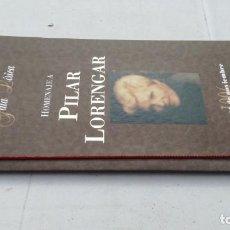 Música de colección: HOMENAJE A PILAR LORENGAR/ SAÑLA MOZART/ ZARAGOZA/ / G205. Lote 169829028