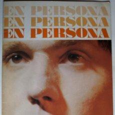 Música de colección: PROGRAMA PRIMEROS RECITALES RAPHAEL EN PALACIO DE LA MUSICA 1968 Y FOTO FIRMADA. Lote 169882656