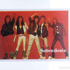 Musique de collection: CROMO SUPER MUSICAL 55. SOBREDOSIS. EYDER, CIRCA 1980. Lote 200884082
