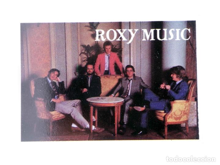 CROMO SUPER MUSICAL 66. ROXY MUSIC. EYDER, CIRCA 1980 (Música - Varios)