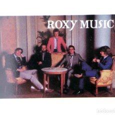 Musique de collection: CROMO SUPER MUSICAL 66. ROXY MUSIC. EYDER, CIRCA 1980. Lote 178974968
