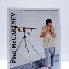 Música de coleção: CROMO SUPER MUSICAL 85. PAUL MCCARTNEY. EYDER, CIRCA 1980. Lote 210545138