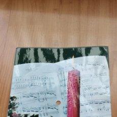 Música de colección: TARJETA POSTAL FELICITACION NAVIDEÑA 45 R.P.M. 352/FO 6429 SILENT NIGHT(GRUBER) FABELDIS SONIM. Lote 170289868