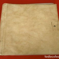 Música de colección: ALBUM PARA VINILOS DE 33 RPM LP - CON 10 HOJAS PARA GUARDAR 20 LPS. Lote 171238572