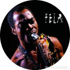 Musique de collection: IMAN/MAGNET FELA KUTI . NIGERIA 70 AFROBEAT AFRICA JAZZ SOUL BLACK PANTHERS. Lote 171626812