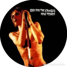 Música de colección: CHAPA/BADGE IGGY AND THE STOOGES RAW POWER . PIN BUTTON MC5 DAVID BOWIE PUNK. Lote 171752112