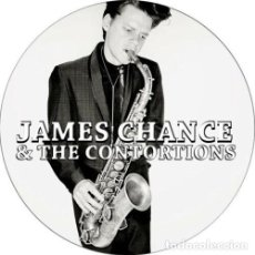 Música de coleção: CHAPA/BADGE JAMES CHANCE & THE CONTORTIONS . PIN BUTTON NO WAVE LYDIA LUNCH. Lote 171754535