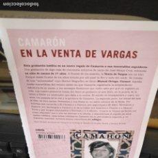 Música de colección: HOJA MUSICAL FLAMENCO - CAMARON DE LA ISLA PACO DE LUCIA MODRGO . Lote 172457037