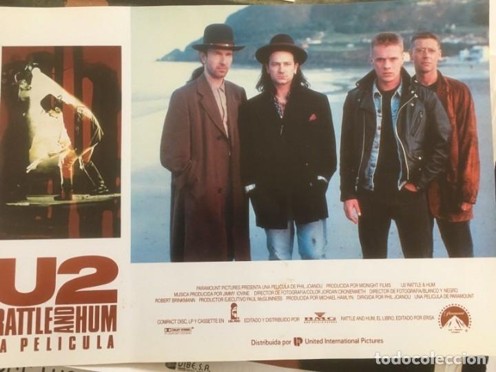Música de colección: U2 Rattle and Hum Lote coleccionista: Poster original, lobby cards - Foto 3 - 172496243