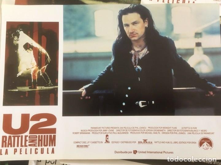 Música de colección: U2 Rattle and Hum Lote coleccionista: Poster original, lobby cards - Foto 4 - 172496243