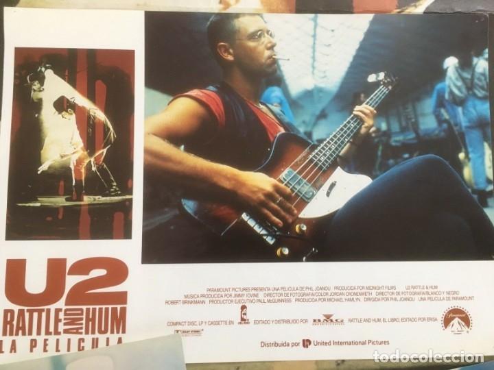Música de colección: U2 Rattle and Hum Lote coleccionista: Poster original, lobby cards - Foto 5 - 172496243