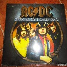 Música de colección: AC/DC OFFICIAL 2011 CALENDAR CALENDARIO OFICIAL PRECINTADO ACDC AC CD CALENDARIO 2011 RARO. Lote 172577948