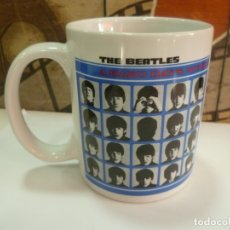 Música de colección: TAZA BEATLES: A HARD DAYS NIGHT. Lote 172648675