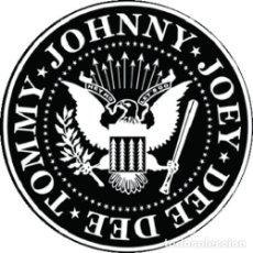 Musique de collection: IMAN/MAGNET RAMONES LOGO . JOHNNY THUNDERS STOOGES IGGY POP PUNK BLONDIE. Lote 223046030