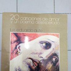 Música de colección: LUIS EDUARDO AUTE 20 CANCIONES DE AMOR Y UNA CANCION DESESPERADA 2 LPS . Lote 173633424