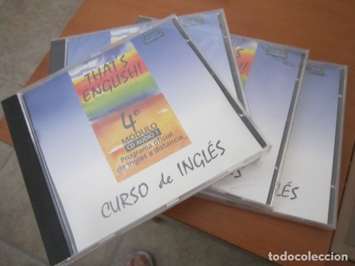 CD CURSO DE INGÉS (Música - Varios)