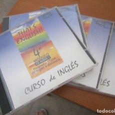 Música de colección: CD CURSO DE INGÉS. Lote 173672435