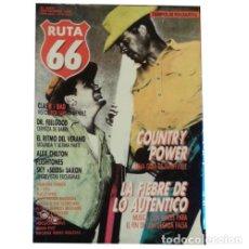 Música de colección: REVISTA RUTA 66 #10 . COUNTRY THE CLASH DR FEELGOOD ALEX CHILTON FLESHTONES BAD. Lote 173681277