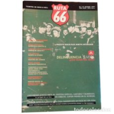 Música de colección: REVISTA RUTA 66 #16 (MARZO 1987) DELINCUENCIA JUVENIL JASON SCORCHERS SCOTT WALK. Lote 173681308