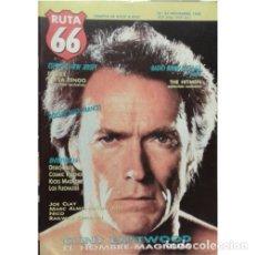 Música de colección: REVISTA RUTA 66 #34 (NOVIEMBRE 1988) . CLINT EASTWOOD RADIO BIRDMAN FEELIES NICO. Lote 173681378