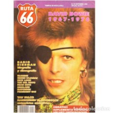 Música de colección: REVISTA RUTA 66 #54 (SEPTIEMBRE 1990) . DAVID BOWIE VELVET UNDERGROUND RADIO BIRDMAN. Lote 173681442