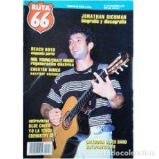 Música de colección: REVISTA RUTA 66 #56 (NOVIEMBRE 1990) . JONATHAN RICHMAN BEACH BOYS NEIL YOUNG. Lote 173681462