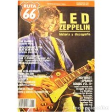 Música de colección: REVISTA RUTA 66 #60 (MARZO 1991) . LED ZEPPELIN THE DAMNED JACK KEROUAC REPLACEMENTS. Lote 173681555