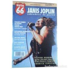 Música de colección: REVISTA RUTA 66 #67 (NOVIEMBRE 1991) . JANIS JOPLIN VIOLENT FEMMES DICTATORS. Lote 173681635