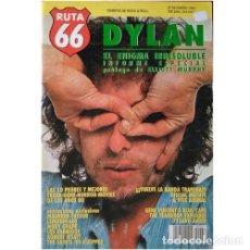 Música de colección: REVISTA RUTA 66 #69 (ENERO 1991) . BOB DYLAN MAUREEN TUCKER MOBY GRAPE ENEMIGOS. Lote 173681668