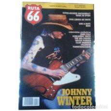 Música de colección: REVISTA RUTA 66 #74 (JUNIO 1992) . JOHNNY WINTER ROCKABILLY SAM AND DAVE RIDE. Lote 173681709