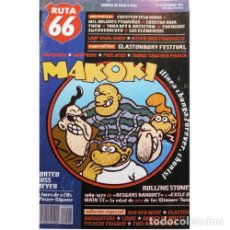 Música de colección: REVISTA RUTA 66 #98 (SEPTIEMBRE 1994) . MAKOKI THE ROLLING STONES ELASTICA LINUS. Lote 173681950
