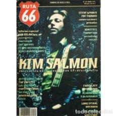 Música de colección: REVISTA RUTA 66 #102 (ENERO 1995) . KIM SALMON HUNTER S. THOMPSON STEVE WYNN. Lote 173682018