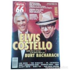 Música de colección: REVISTA RUTA 66 #144 (NOVIEMBRE 1998) . ELVIS COSTELLO STEPHEN STILLS SATANISMO. Lote 173682095