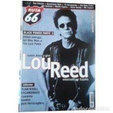 Música de colección: REVISTA RUTA 66 #160 (ABRIL 2000) . LOU REED PUNK ROCK HELLACOPTERS LAST POETS. Lote 173682157