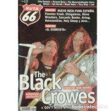 Música de colección: REVISTA RUTA 66 #173 (JUNIO 2001) . THE BLACK CROWES PUNK ROCK JOEY RAMONE LOW. Lote 173682268