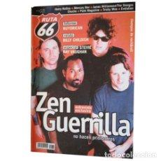 Música de colección: REVISTA RUTA 66 #175 (SEPTIEMBRE 2001) . ZEN GUERRILLA NUYORICAN BILLY CHILDISH. Lote 173682284