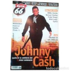 Música de colección: REVISTA RUTA 66 #176 (OCTUBRE 2001) . JOHNNY CASH QUIREBOYS DICTATORS THE CULT . Lote 173682294