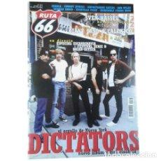 Música de colección: REVISTA RUTA 66 #177 (NOVIEMBRE 2001) . THE DICTATORS GIANT SAND CALEXICO SVEN H. Lote 173682319