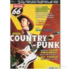 Música de colección: REVISTA RUTA 66 #188 (NOVIEMBRE 2002) . COUNTRY PUNK JASON RINGENBERG JAY FARRAR. Lote 173682343