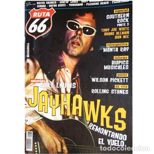 REVISTA RUTA 66 #197 (SEPTIEMBRE 2003) . JAYHAWKS ROLLING STONES WILSON PICKETT (Música - Varios)