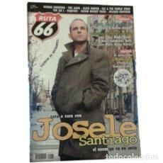 Música de colección: REVISTA RUTA 66 #203 (MARZO 2004) . JOSELE SANTIAGO RAMONES HOT ROD RAGA FOLK . Lote 173682464