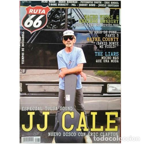 REVISTA RUTA 66 #232 (NOVIEMBRE 2006) . JJ CALE DEAD MOON NACHO VEGAS BUNBURY (Música - Varios)
