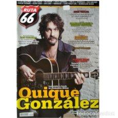 Música de colección: REVISTA RUTA 66 #302 (MARZO 2013) . QUIQUE GONZÁLEZ LOS CORONAS MICK TAYLOR. Lote 173682532
