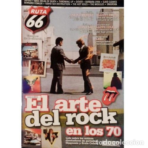 REVISTA RUTA 66 #307 (SEPTIEMBRE 2013) . PINK FLOYD SABINO MENDEZ LEÑO JOHN CALE (Música - Varios)