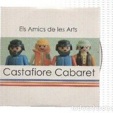 Música de colección: CD-MUSICA: ELS AMICS DE LES ARTS - CASTAFIORE CABARET (PISTAXTO RECORDS 2008). Lote 174183398