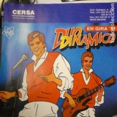 Música de colección: HOJA REVISTA DUO DINAMICO. Lote 174272088